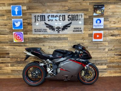 MV Agusta F4 1000 Super Sports Petrol Black/silverMV Agusta F4 1000 Super Sports Petrol Black/silver at Bikes for Cash Batley
