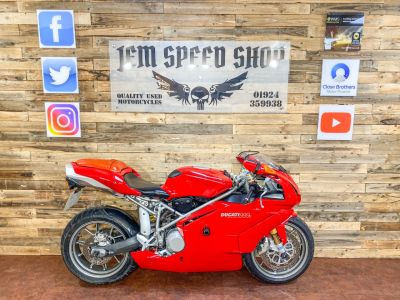 Ducati 999 999S BIP Super Sports Petrol RedDucati 999 999S BIP Super Sports Petrol Red at Bikes for Cash Batley