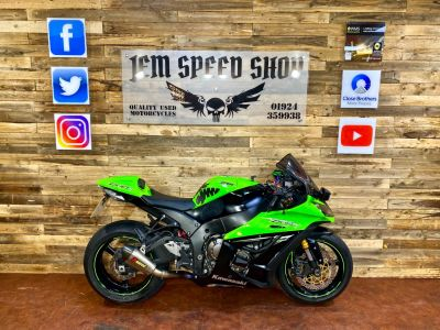 Kawasaki ZX-10R ZX 1000 JEF Super Sports Petrol GreenKawasaki ZX-10R ZX 1000 JEF Super Sports Petrol Green at Bikes for Cash Batley