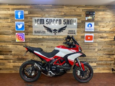 Ducati Multistrada 1200 MULTISTRADA 1200 S PP Adventure Petrol RedDucati Multistrada 1200 MULTISTRADA 1200 S PP Adventure Petrol Red at Bikes for Cash Batley