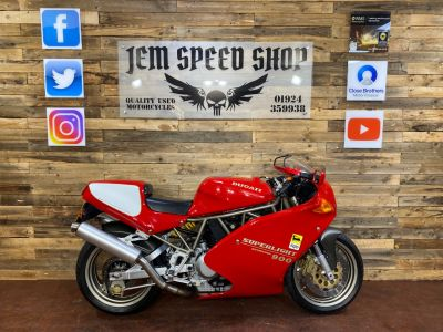 Ducati 900 Ducati 900 Superlight SL No. 646 Super Sports Petrol RedDucati 900 Ducati 900 Superlight SL No. 646 Super Sports Petrol Red at Bikes for Cash Batley