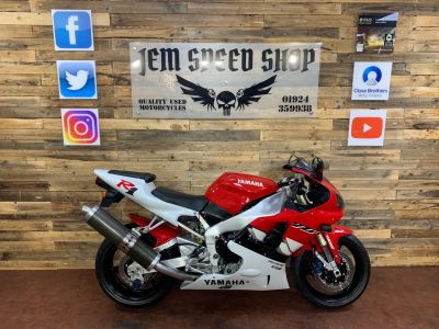 Yamaha YZF-R1 Yamaha YZF-R1 4XV Deltabox 2 Exup Super Sports Petrol RedYamaha YZF-R1 Yamaha YZF-R1 4XV Deltabox 2 Exup Super Sports Petrol Red at Bikes for Cash Batley