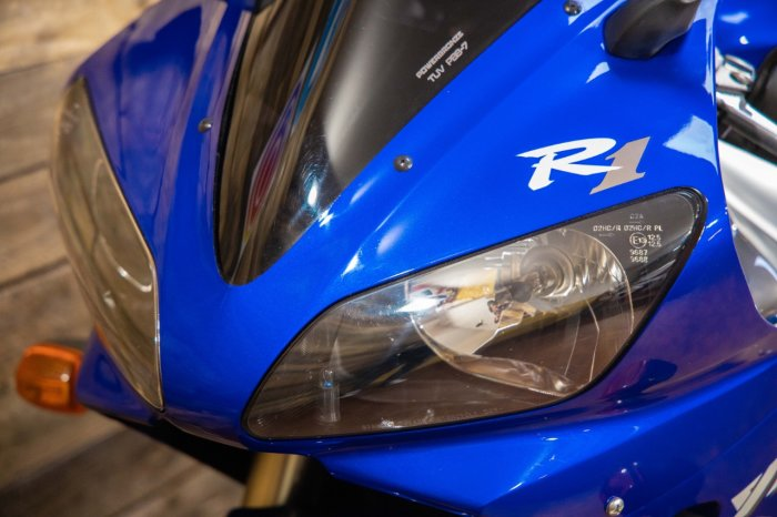 Yamaha YZF-R1 5JJ Super Sports Petrol blue