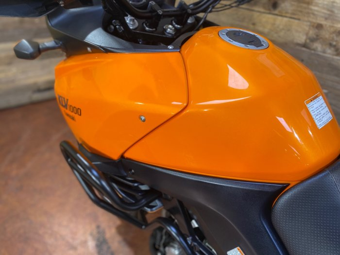 Kawasaki KLV1000 KLV 1000 A1H Adventure Petrol Orange