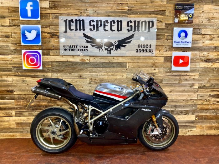 Ducati 1198 1198 S Super Sports Petrol black