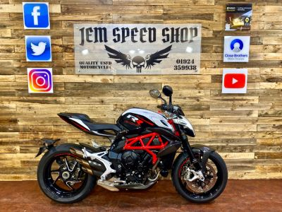 MV Agusta BRUTALE BRUTALE 800 RR Naked Petrol White/blackMV Agusta BRUTALE BRUTALE 800 RR Naked Petrol White/black at Bikes for Cash Batley
