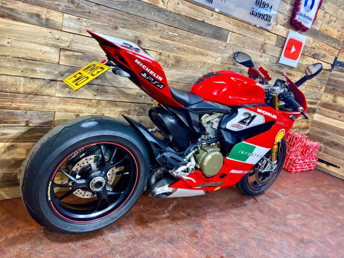 Ducati 1199 Panigale 1199 S PANIGALE ABS Super Sports Petrol Red
