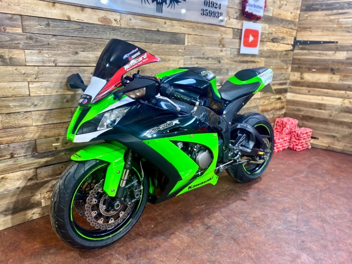 Kawasaki ZX-10R ZX 1000 JBF Super Sports Petrol Green/black
