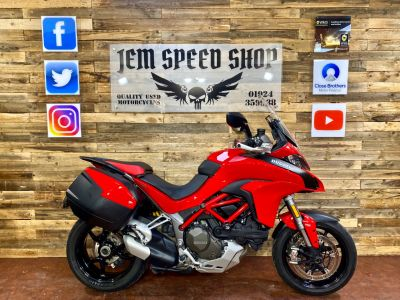 Ducati Multistrada 1200 MULTISTRADA 1200 S TOURING Sports Tourer Petrol RedDucati Multistrada 1200 MULTISTRADA 1200 S TOURING Sports Tourer Petrol Red at Bikes for Cash Batley
