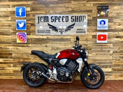 Honda CB1000R CB 1000 RA-J Naked Petrol RedHonda CB1000R CB 1000 RA-J Naked Petrol Red at Bikes for Cash Batley