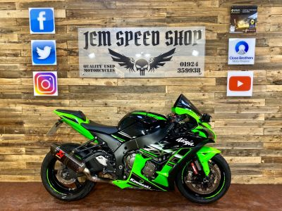 Kawasaki ZX-10R ZX 1000 SGFA KRT EDITION Super Sports Petrol GreenKawasaki ZX-10R ZX 1000 SGFA KRT EDITION Super Sports Petrol Green at Bikes for Cash Batley