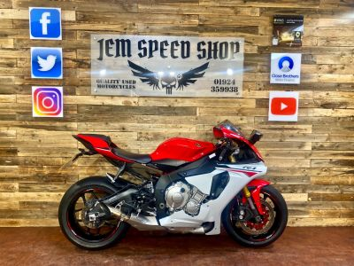 Yamaha YZF-R1 YZF R1 16 Super Sports Petrol RedYamaha YZF-R1 YZF R1 16 Super Sports Petrol Red at Bikes for Cash Batley