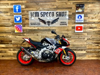 Aprilia Tuono 1100 V4 TUONO V4 1100 FACTORY Naked Petrol BlackAprilia Tuono 1100 V4 TUONO V4 1100 FACTORY Naked Petrol Black at Bikes for Cash Batley