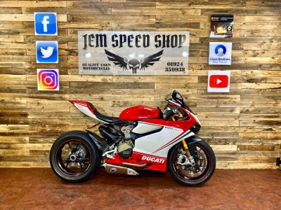 Ducati 1199 Panigale 1199 PANIGALE TRICOLORE Super Sports Petrol Multi-ColouredDucati 1199 Panigale 1199 PANIGALE TRICOLORE Super Sports Petrol Multi-Coloured at Bikes for Cash Batley
